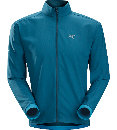 Accelero Jacket $^Men's^$ Breathable, moisture-wicking jacket; Ideal for aerobic activities in cooler weather.