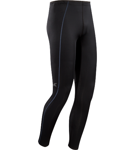 Accelero Tight Men's Lightweight, running and training tight with a mesh lumbar panel for venting.