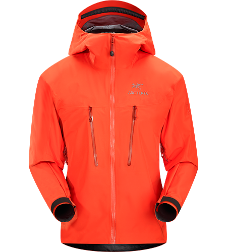 Alpha LT Jacket $^Men's^$ <strong>Alpha Series: Climbing and alpine focused systems | LT: Lightweight. </strong>Exceptionally lightweight, durable and fully waterproof jacket for all alpinist sports; ideal for use with a climbing harness.