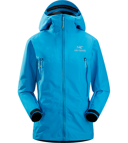 Alpha SL Hybrid Jacket $^Women's^$ Super lightweight, compressible, waterproof jacket designed using two composites of GORE-TEX® textile for added durability in high-wear areas. Ideal for emergency weather protection when hiking or climbing.