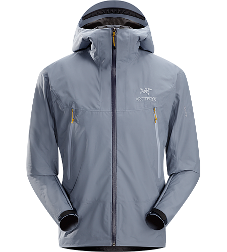 Alpha SL Jacket Men's Super lightweight, waterproof GORE-TEX® PacLite® jacket with essential backcountry features and helmet compatible Speed Hood®; ideal as an easily packable emergency storm jacket in an alpine environment.