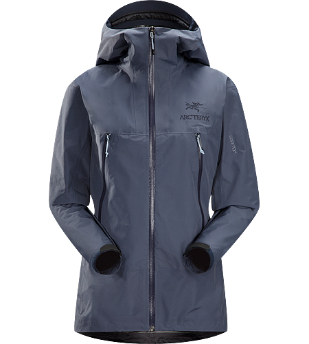 Alpha SL Jacket Women's Super lightweight, waterproof GORE-TEX® PacLite® jacket with essential backcountry features and helmet compatible Speed Hood®; ideal as an easily packable emergency storm jacket in an alpine environment.