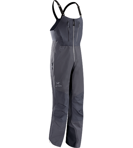 Alpha SV CZ Bib $^Men's^$ <strong>Alpha Series: Climbing and alpine focused systems | SV: Severe Weather. </strong>Waterproof/breathable GORE-TEX® Pro bib pant for severe weather conditions has high back and through-the-crotch zip, exceptionally durable N80p-X face fabric and large storage pockets.