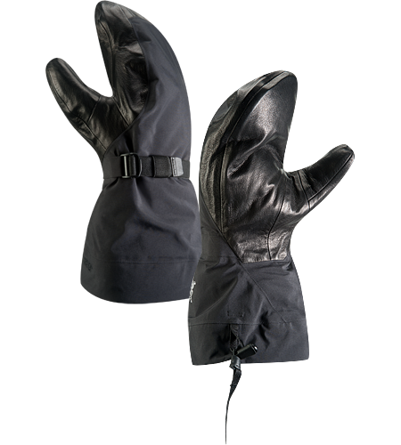 Alpha SV Mitt Men's <strong>Alpha Series: Climbing and alpine focused systems | SV: Severe Weather. </strong>Anatomically superior, advanced waterproof GORE-TEX® mitten-style glove, engineered using our new Tri-Dex™ Technology; Ideal for use in the backcountry