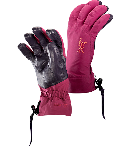 Beta AR Glove $^Women's^$ <strong>Beta Series: All-round mountain apparel | AR: All-Round. </strong>Anatomically designed, waterproof gloves with fleece liner and easy-pull wrist cinch system. Ideal for all around alpine adventures