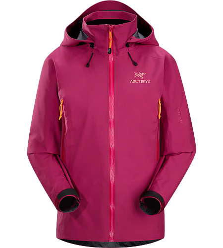 Beta AR Jacket Women's <strong>Beta Series: All-round mountain apparel | AR: All-Round. </strong>Women-specific, lightweight & packable, waterproof GORE-TEX® jacket; Hip length with a helmet compatible DropHood™
