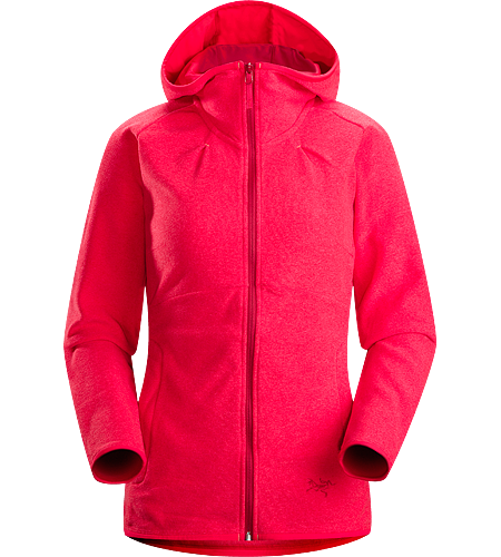 Caliber Hoody Women's Athletic fit hoody with full front zipper and a comfortable lined hood