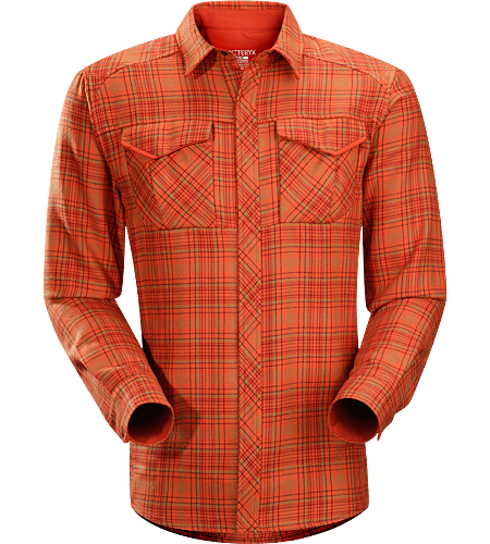 Cavus Shirt LS $^Men's^$ Polyester/wool blend flannel shirt