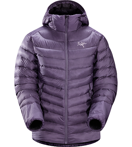 Cerium LT Hoody Women's <strong>Down Series: Down insulated garments | LT: Lightweight. </strong>Streamlined, lightweight down hoody filled with 850 white goose down. This backcountry specialist hoody is intended primarily as a mid layer in cool, dry conditions.
