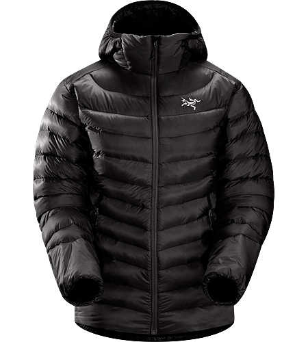 Cerium LT Hoody Women's <strong>Down Series: Down insulated garments | LT: Lightweight. </strong>Streamlined, lightweight down hoody filled with 850 white goose down. This backcountry specialist hoody is intended as a mid layer or standalone piece in cool, dry conditions.