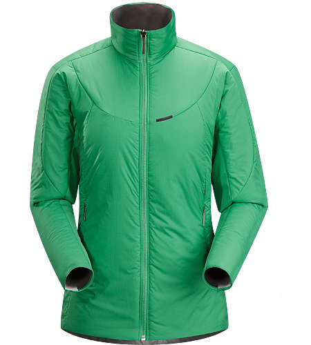 Ceva Jacket $^Women's^$ Versatile, lightweight, insulated jacket designed to be worn as either a cold weather mid layer, or as a stand alone piece in cold dry conditions