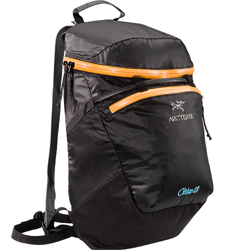 Cierzo 18 Ultra-light and compressible, low-profile lead pack, designed for rock and ice climbers