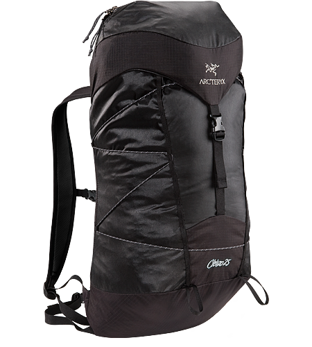 Cierzo 25 Highly compressible, super lightweight secondary summit pack pared down to the essentials only.