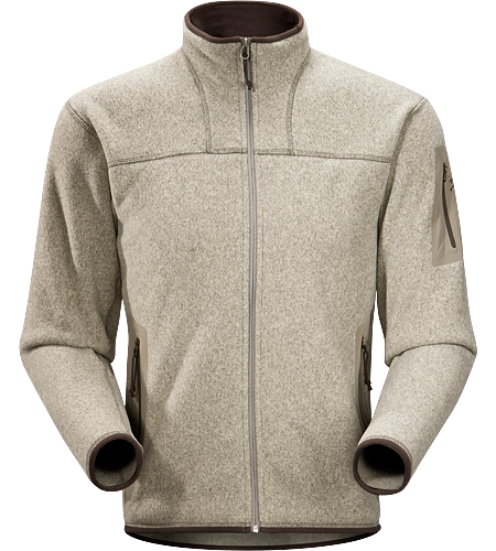 Covert Cardigan Men's Breathable fleece jacket with a casual design; Ideal for layering or as a stand alone piece.