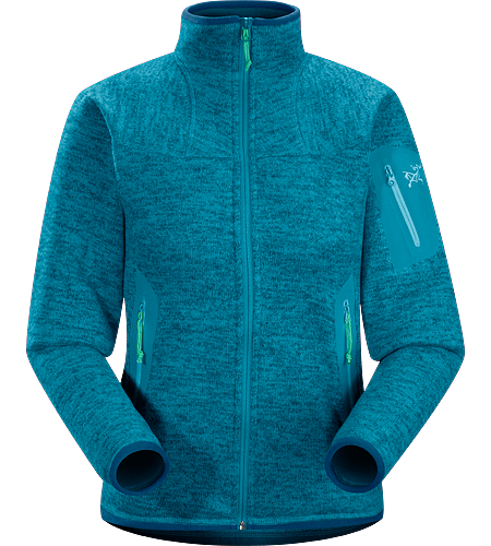 Covert Cardigan Women's Breathable fleece jacket with a casual design; Ideal for layering or as a stand alone piece.