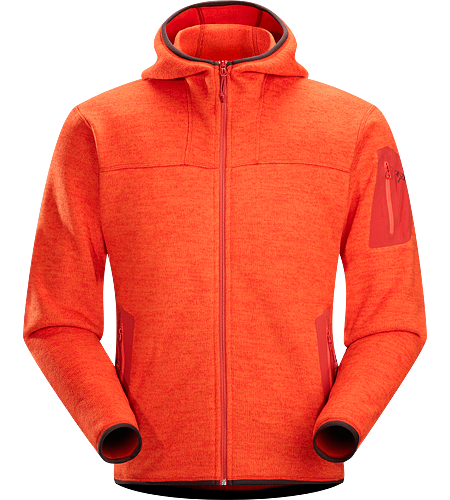 Covert Hoody Men's Luftiger Fleece-Kapuzenpulli in lässigem Look - ideal als zweite Lage oder solo