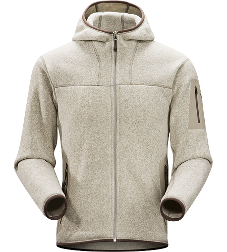 Covert Hoody Men's Breathable fleece hoody with a casual design; Ideal for layering or as a stand alone piece.