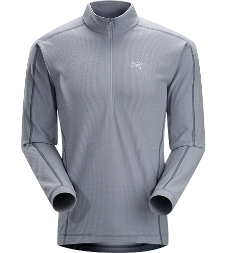 Delta LT Zip Neck Men's <strong>Delta Series: Mid layer fleece | LT: Lightweight. </strong>Breathable, moisture-wicking, lightweight insulated jersey.
