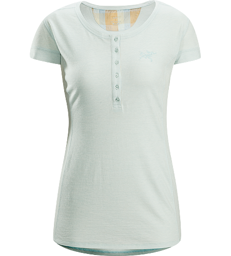 Emissary SS Women's Premium quality, short sleeve Henley shirt made of Laincast™ wool blend textile; Ideal for multi-day, multi purpose use.