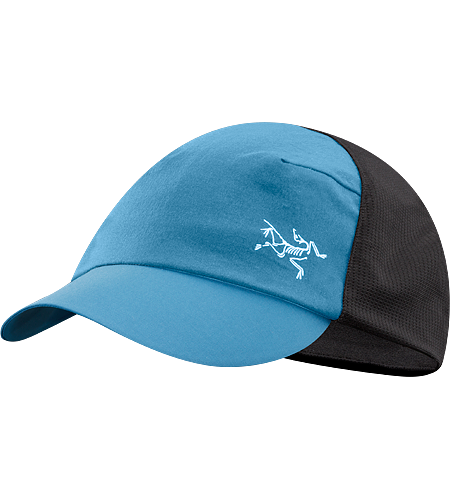Escapa Cap Lightweight, breathable, mesh-lined hat with a pliable, laminated brim and a hint of 'trucker' styling