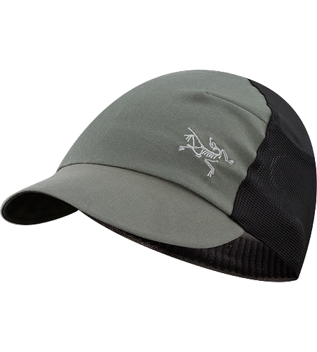 Escapa Hat Women's Lightweight, breathable, mesh panel hat with a pliable, laminated brim and a ponytail hole