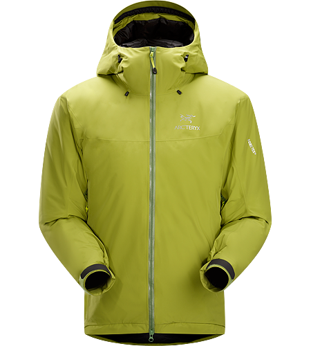 Fission SL Jacket Men's <strong>Fission Series: Insulated weatherproof outerwear | SL: Superlight. </strong>The lightest weight, fully waterproof, fully insulated jacket uses waterproof/breathable GORE-TEX® and Arc'teryx exclusive Thermatek™ insulation.