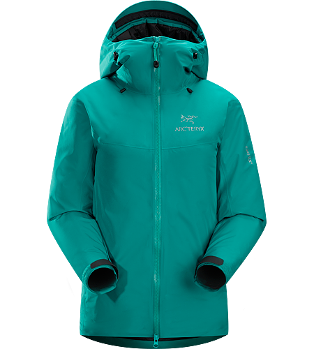Fission SL Jacket Women's <strong>Fission Series: Insulated weatherproof outerwear | SL: Superlight. </strong>The lightest weight, fully waterproof, fully insulated jacket uses waterproof/breathable GORE-TEX® and Arc'teryx exclusive Thermatek™ insulation.