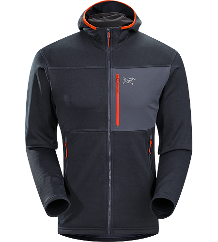 Fortrez Hoody Men's Durable, mid weight, hardfleece hooded jacket; Ideal as a layering piece, or as a stand alone piece on cooler, dry days.