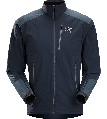 Gamma SL Hybrid Jacket Men's <strong>Gamma Series: Softshell outerwear with stretch | SL: Superlight. </strong> Lightweight, durable wind and moisture resistant jacket constructed using two weights of softshell textile for enhanced mobility and breathability.