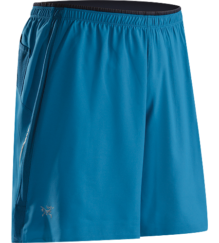 Incendo Short Men's Lightweight, breathable, quick-drying running short with integrated mesh brief.