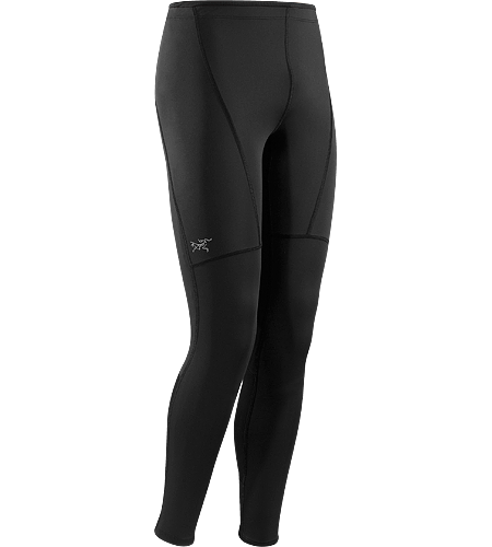 Incendo Tight Men's Full length, moisture-wicking running tight with articulated patterning for enhanced comfort and freedom of movement.