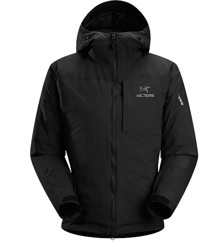 Kappa Hoody Men's <strong>Kappa Series: Insulated wind resistant outerwear. </strong>Highly insulated, windproof, breathable jacket constructed with enhanced WINDSTOPPER® fabric with a softer face, and reinforced shoulders and arms; ideal for active pursuits in freezing weather.