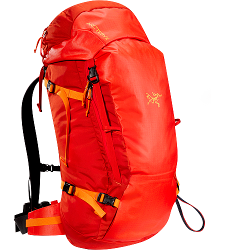 Khamski 38 38 Litre backcountry skiing / split snowboarding pack sized for day trips or light overnight touring