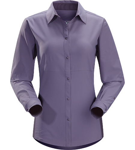 Libere Comp LS $^Women's^$ Breathable, lightweight long sleeved shirt with sleeves that roll and secure in place for hotter weather.