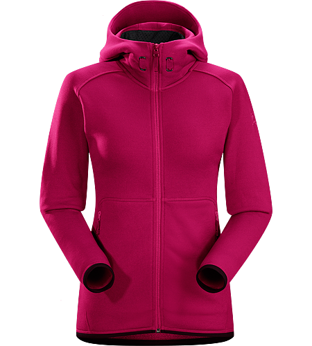 Maeven Hoody Women's Lightweight, low profile, technical mid-layer, full zip hoody; ideal for hard working days on the hill.