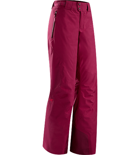 Morra Pant Women's Synthetically insulated waterproof pants have light insulation and low profile silhouette for versatility on colder days