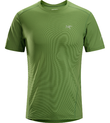 Motus Crew SS Men's Moisture-wicking, quick-drying, short-sleeve shirt constructed using Phasic™ technology textile; ideal for a wide range of high-output activities.