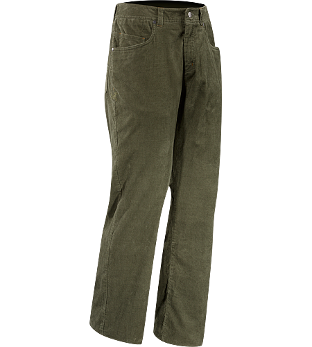Nalix Pant Men's Trim fit corduroy pant with articulation for motion and comfort