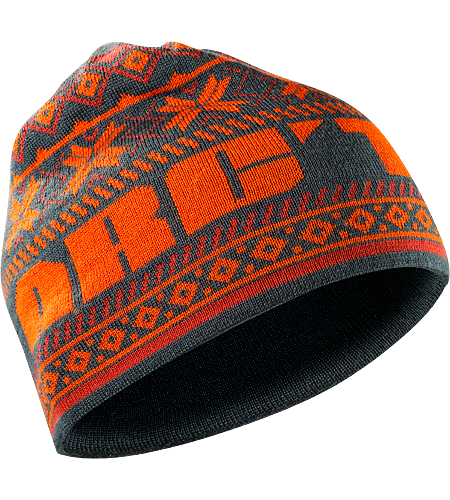 Nordiq Hat $^Men's^$ Wool/acrylic blend beanie with bold, colourful details