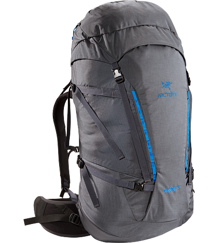 Nozone 75 Lightweight, comfortable and robust backpack, designed for climbing specialists or expert alpine users to haul larger loads.