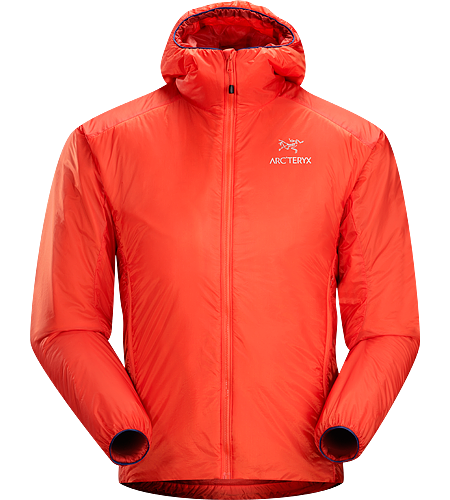 Nuclei Hoody Men's Lightweight, compact, trim-fitting belay jacket with a high warmth-to-weight ratio