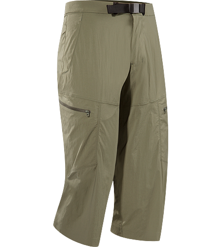 Palisade Cropper Men's Quick-drying, articulated cropped pant; ideal for warm weather activities.