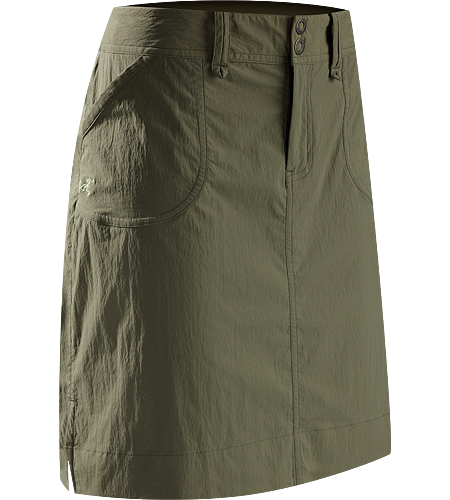 Parapet Skirt Women's Relaxed fit, mid-thigh length, A-line skirt with a wide, comfortable waistband and constructed with durable, stretchy, quick-drying TerraTex™ textile.