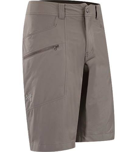 Perimeter Short Men's Mid-weight, articulated hiking shorts, designed and patterned for enhanced freedom of movement and comfort.