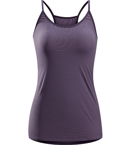 Phase SL Camisole Women's <strong>Phase Series: Moisture wicking base layer | SL: Superlight. </strong>Lightweight, form-fitted camisole top; Ideal as a lightweight insulation layer during aerobic activity in cooler conditions.