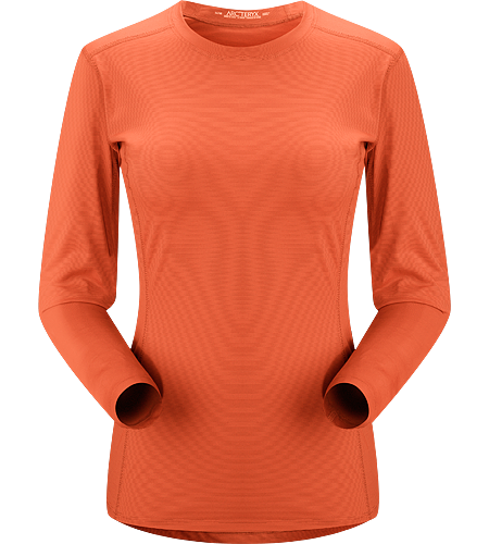 Phase SL Crew LS Women's <strong>Phase Series: Moisture wicking base layer | SL: Superlight. </strong>Moisture-wicking base-layer, constructed using odour-control fabric; Ideal as lightweight insulation layer during aerobic activities