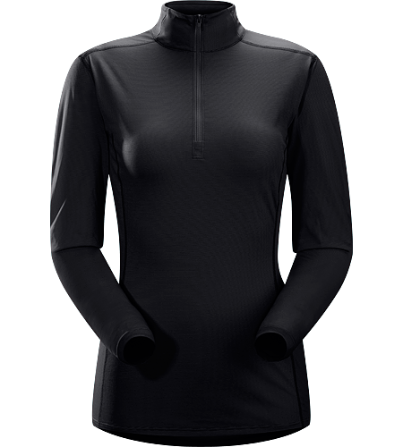 Phase SL Zip Neck LS Women's <strong>Phase Series: Moisture wicking base layer | SL: Superlight. </strong>Moisture-wicking base-layer with zip neck, constructed using odour-control fabric; Ideal as lightweight insulation layer during aerobic activities