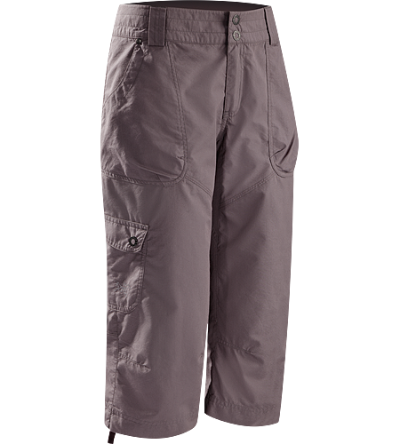Rana Capri Women's Newly redesigned for 2012 with revised pocket configuration and tougher fabric. Lightweight, relaxed fit Capri pants, ideal for outdoor warm-weather activities