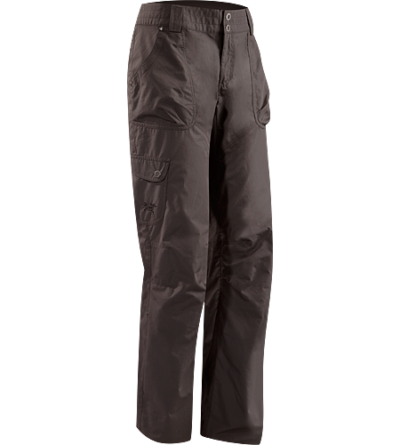 Rana Pant Women's Newly redesigned for 2012 with revised pocket configuration and tougher fabric. Lightweight, relaxed fit pant with roll-up legs; Ideal for outdoor warm-weather activities