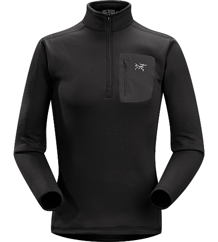 Rho AR Zip Neck $^Men's^$ Breathable, moisture-wicking, insulated jersey with collar zip to aid with temperature regulation